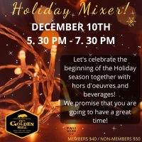 Holiday Mixer 12/10/19