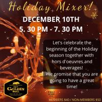 Holiday Mixer 12/10/19