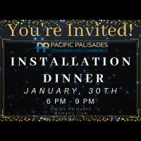 Installation Dinner 1/30/2020