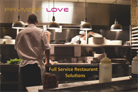 Full Service to Fast Service Restaurant, we have solutions for you