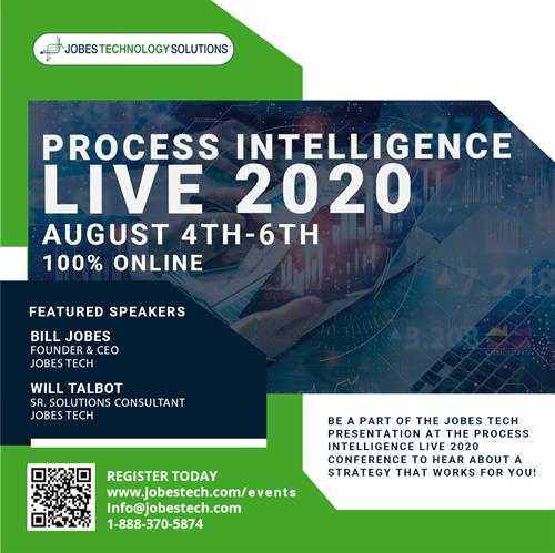 Process Intelligence LIVE 2020