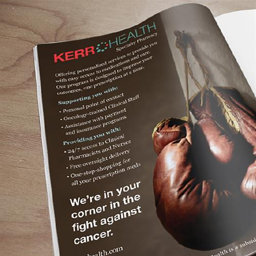 Kerr Drug Oncology Magazine Ad