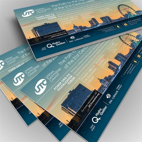 Utilities Technology Council Providence RI event brochures