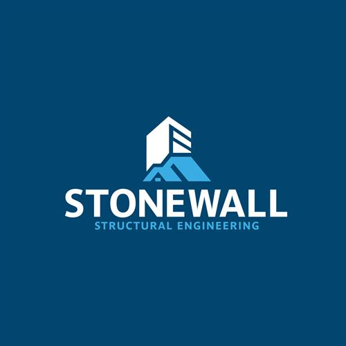 Stonewall Structure Engineering logo design