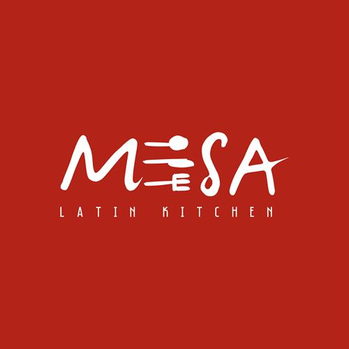 Mesa Latin Kitchen brand identity