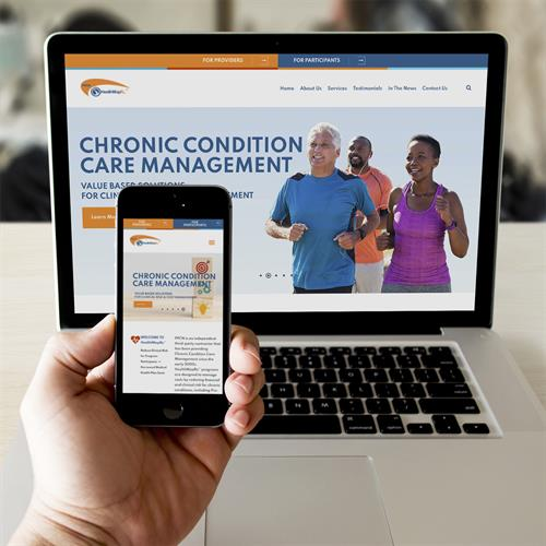 PPCN Chronic Care Management website design