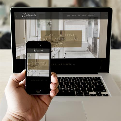 K.Alexander Kitchen & Bath website design