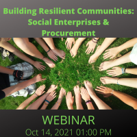 Building Resilient Communities: Social Enterprises & Procurement