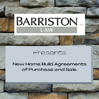 Webinar: New Home Build Agreements of Purchase and Sale