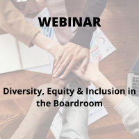 Diversity, Equity & Inclusion in the Boardroom