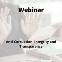 Anti-Corruption, Integrity and Transparency