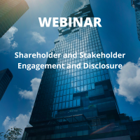 Shareholder and Stakeholder Engagement and Disclosure