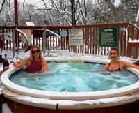 Our Year Round Hot Tub