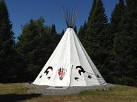 Tipi Spirit Bear