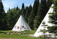 Two of three tipis
