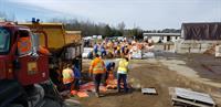 2019 Flood - Rosewarne Sand Bagging Operation