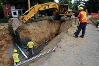 Sewer-Watermain Construction