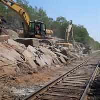Railway Rock Excavation