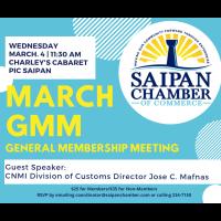 SCC General Membership Meeting