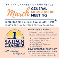 2021 March General Membership Meeting