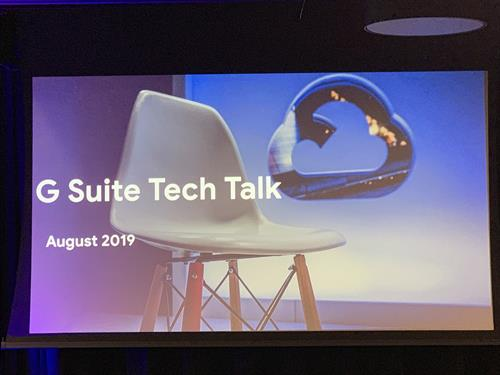 GSuite Tech Talk Chicago