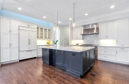 addition design build gut rehab kitchen remodel Wilmette