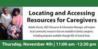 """AGE of Central Texas Partnering with City of Buda for Free Online """"Locating and Accessing Resources for Caregivers"""" Caregiver Seminar"""