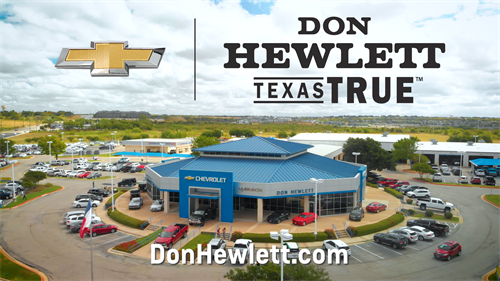 Find New Roads at Don Hewlett Chevrolet