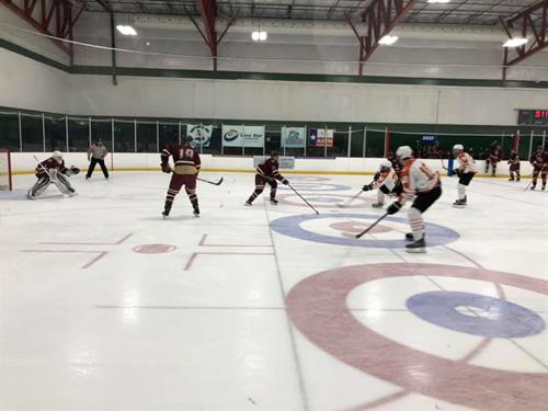University of Texas Ice Hockey Team at Chaparral Ice in Austin