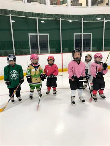 Hockey time at Chaparral Ice in Austin