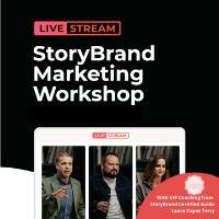 StoryBrand Marketing Workshop Livestream from Laura Capes Terry (StoryBrand Certified Marketing Guide Since 2019)