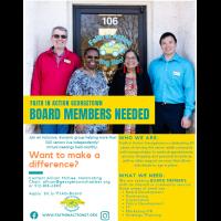 Faith in Action Seeks Board Members