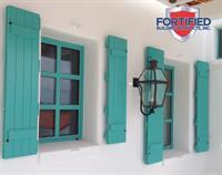 Fortified's Aluminum Board & Batten Colonials - The Bahamas