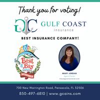 Gulf Coast Insurance Best of the Bay 2020 Winner: Best Insurance Company