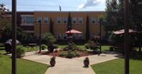 The Wesley Haven Villa Courtyard- an oasis in downtown!