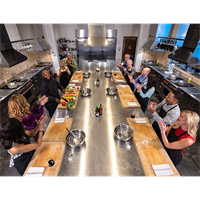 KITCHEN Culinary Studio mixes cuisine, fun and personality, in a state-of-the-art design facility for an unique educational and social dining experience.