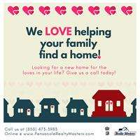 Let us help you find your Pensacola home