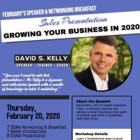 February Speaker & Networking Breakfast: Growing Your Business in 2020