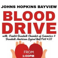 Johns Hopkins Bayview Medical Center Blood Drive at Dundalk American Legion Post #38