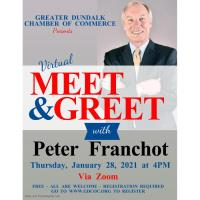 Virtual Meet & Greet with Peter Franchot