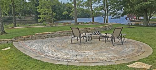 GoodSeed Farm specializes in one-of-a-kind hardscapes like this one at Lake Waynoka