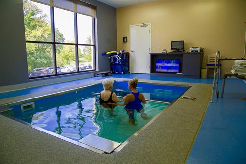 Aquatic Therapy at OVM