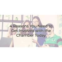 4 Reasons You Need to Get IInvolved with the Chamber Today