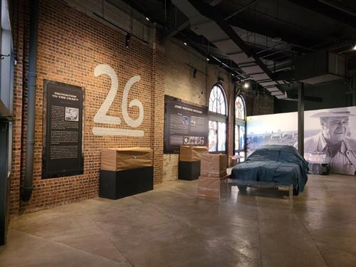 Museum Graphics at the John Wayne: An American Experience Museum by SpeedPro Dallas
