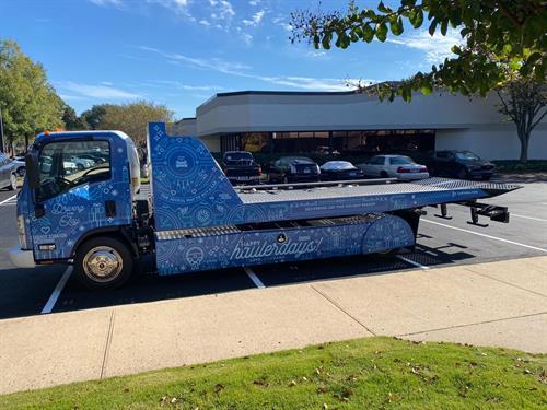 Carvana Truck Wraps by SpeedPro Norcross