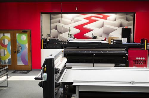 Interior Design of SpeedPro Irving Studio