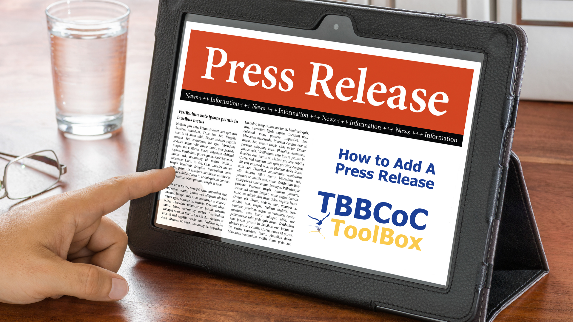 Image for How Add A Press Release