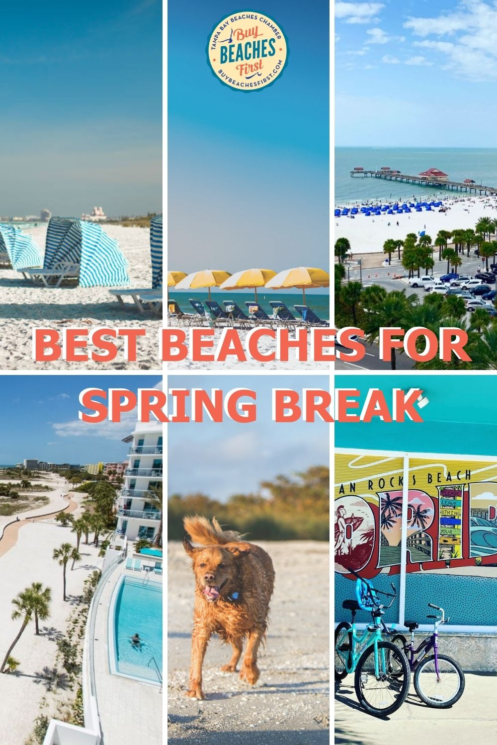 Image for 6 Best Beaches for Spring Break in Tampa Bay, Florida