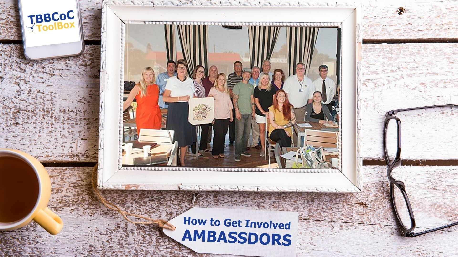 Image for How To Get Involved: Ambassadors