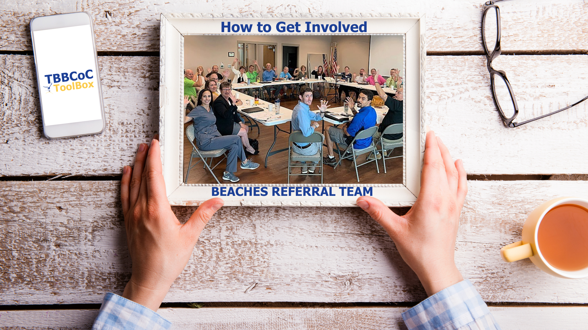 Image for How to Get Involved: Beaches Referral Team (BRT)